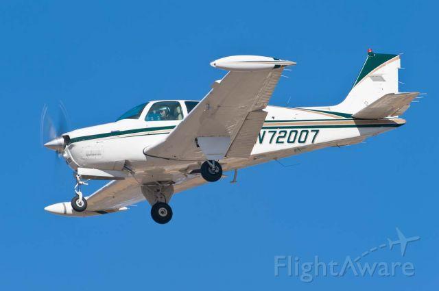Beechcraft Bonanza (36) (N72007) - 19-Feb-2011