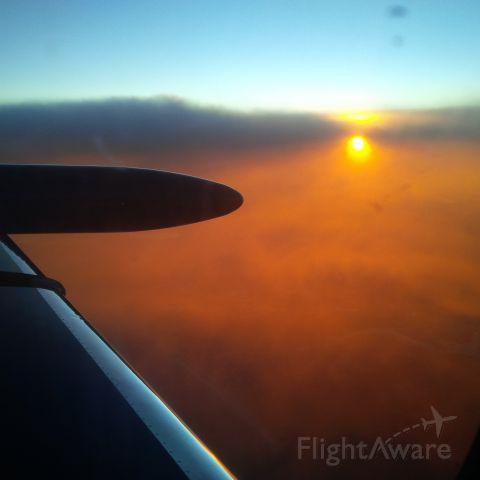 Learjet 35 (N469BB) - At 43000ft from KBWG to KFXE 22 sept 2015
