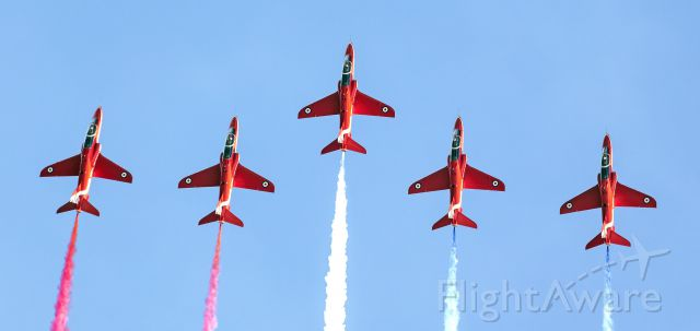 Boeing Goshawk — - Red Arrows Jersey Channel Islands Sept 10, 2015. Usual amazing show