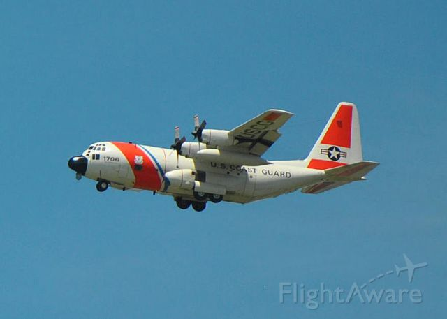 Lockheed C-130 Hercules — - United States Coast Guard C-130 out of Coast Guard Air Station Clearwater, FL shooting approaches to rwy 27 KLAL on 04/30/2015