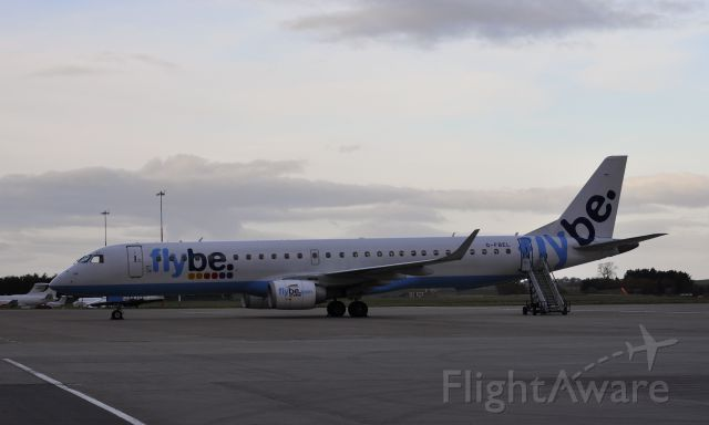Embraer ERJ-190 (G-FBEL) - Flybe Embraer ERJ-195LR G-FBEL in Inverness