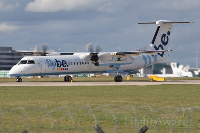 de Havilland Dash 8-400 (G-JECN) - BEE295 departing for Edinburgh