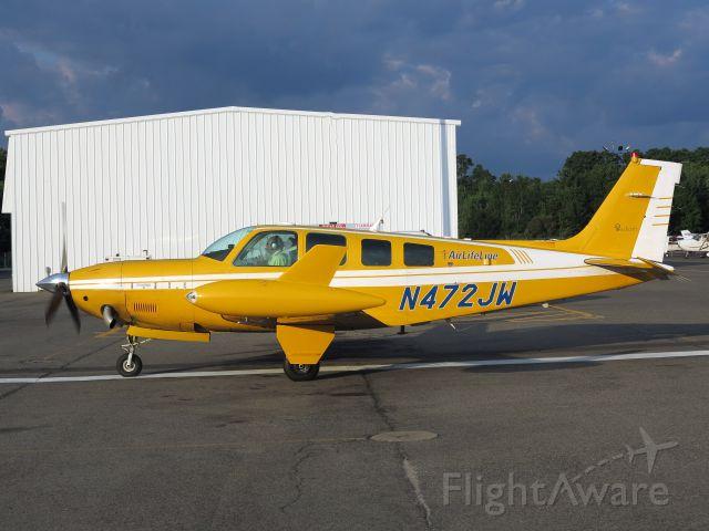 Beechcraft Bonanza (36) (N472JW)