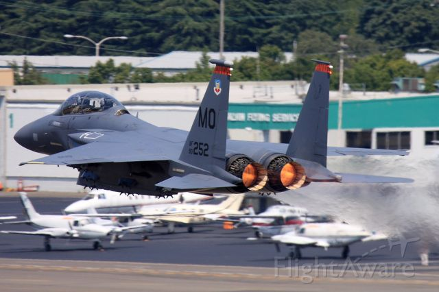 McDonnell Douglas F-15 Eagle (90-0252)