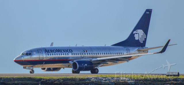 Boeing 737-700 — - Shot with a Nikon D3200 w/ Nikkor 70-300mmbr /Best viewed in Full Size