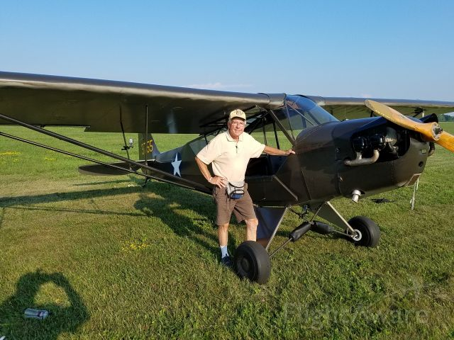 NC51500 — - Roger with L4 at KOSH 2018