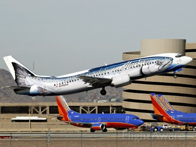 BOEING 737-400 (N792AS) - 2/4/2006