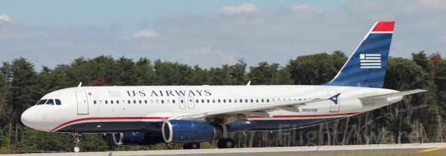 Airbus A320 (N660AW) - Flight 2017<br />KBWI to KCLT<br />9/11/15