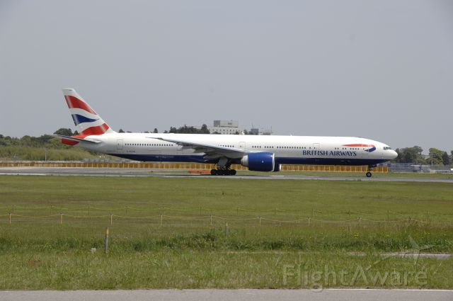 BOEING 737-300 (G-STBB) - Departure at Narita Intl Airport 16R on 2011/5/9