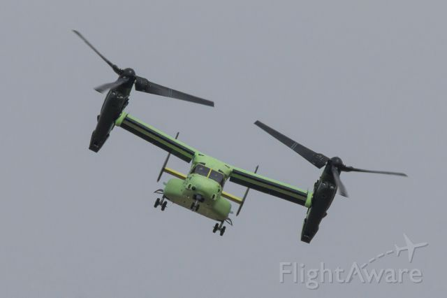 Bell V-22 Osprey (16-8284) - One of the presidential V-22 aircraft during flight testing at Rick Husband Int