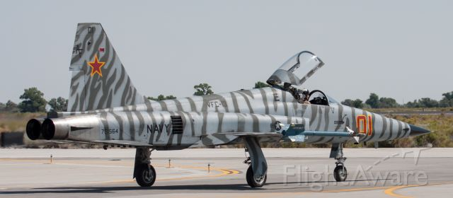 Northrop RF-5 Tigereye (76-1564) - There was a request for a side view of this aggressor F-5.