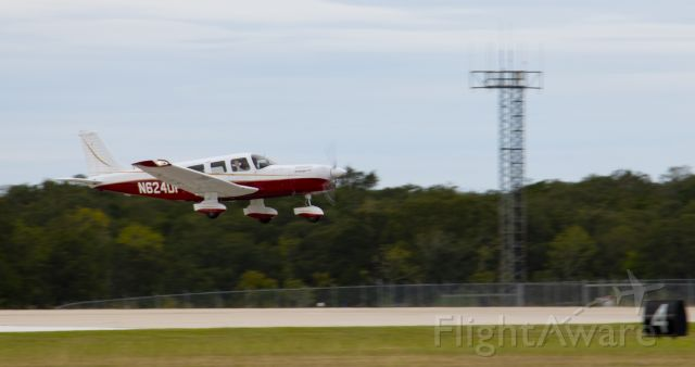 Piper Saratoga (N624DP) - Spencer & Coryee Hamons in their PA-32-301T Saratoga taking off from Easterwood Field in College Station, TX