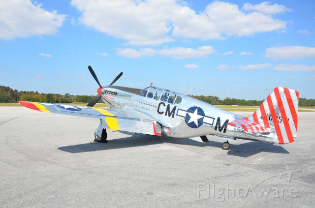 NL251MX — - Collings Foundation P-51B at Sumter Airport SC 27 Oct 2011