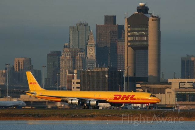 N804DH — - Astar 588 heavy rolling out on runway 4R. At this time Astar Air Cargo had a contract with DHL. Photo taken on November 22, 2011