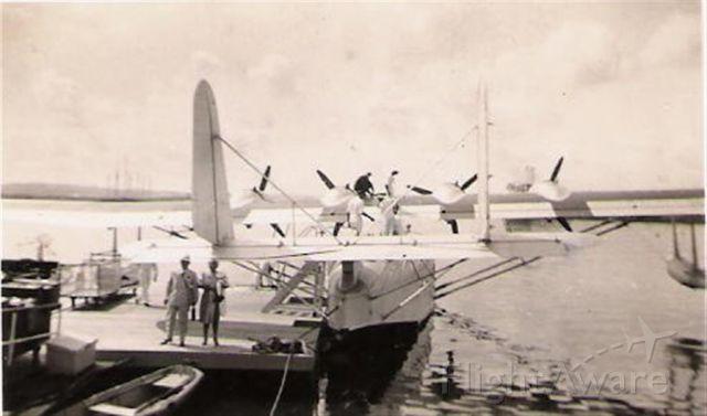 — — - PAA Clipper Havana to Miami Circa 1930