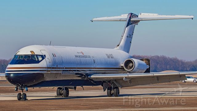 McDonnell Douglas DC-9-30 (XA-UUT) - December 11, 2018, Smyrna, TN -- This frost-covered DC-9-32F is parked at the east cargo ramp.