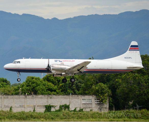 CONVAIR CV-580 (N351FL) - Guerrero de muchas batalla en su vuelo diario de GUA A SAP y posterior salir a MIA