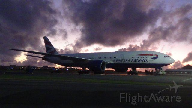 Boeing 777 (G-VIIX)