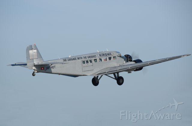JUNKERS Ju-52/3m (HB-HOT) - JU-52 Departure Wave - Van Nuys, CA