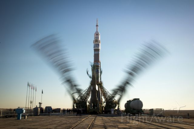 — — - The Soyuz TMA-11M rocket is launched with Expedition 38 Soyuz Commander Mikhail Tyurin of Roscosmos, Flight Engineer Rick Mastracchio of NASA and Flight Engineer Koichi Wakata of the Japan Aerospace Exploration Agency onboard, Thursday, Nov. 7, 2013, at the Baikonur Cosmodrome in Kazakhstan (Nov. 6 in the U.S.). Tyurin, Mastracchio, and, Wakata will spend the next six months aboard the International Space Station.     Credit: NASA/Bill Ingalls