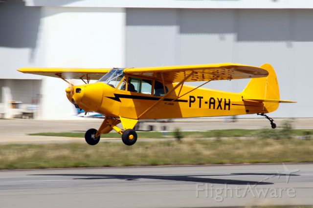 Piper L-18B Cub Special (PT-AXH) - My photos are best of FlightAware!!