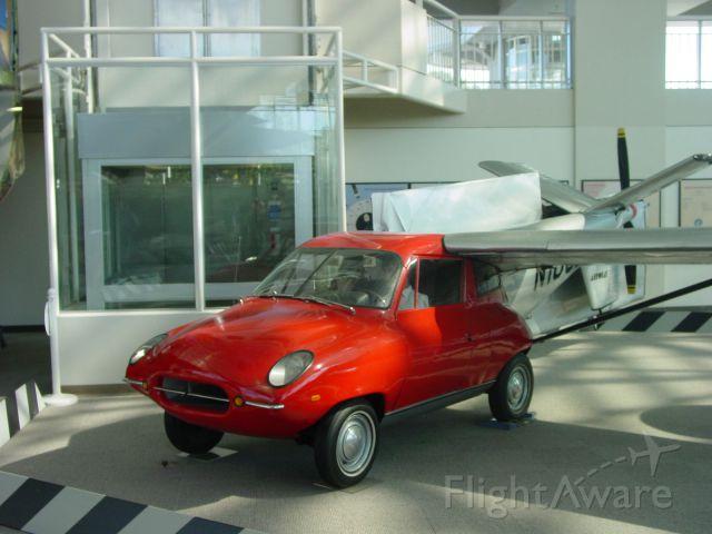 — — - Flying car