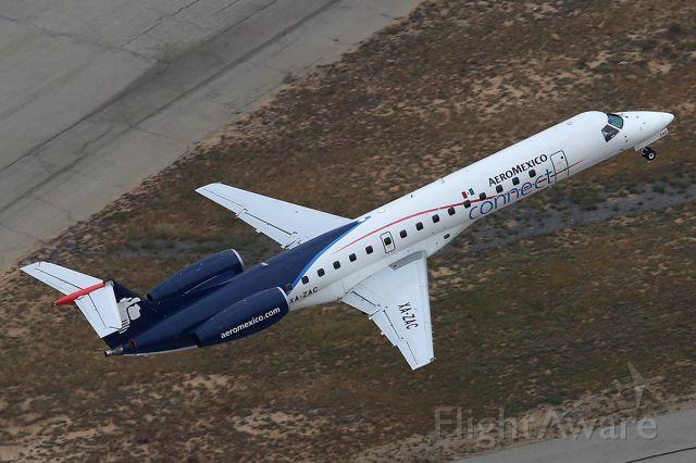 Embraer ERJ-145 (XA-ZAC) - Takes off.
