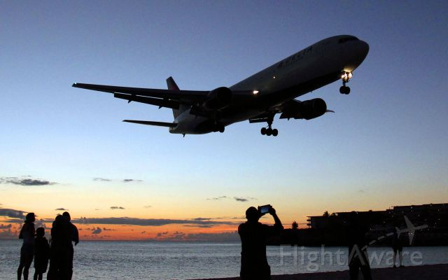 BOEING 767-300 — - Early evening arrival