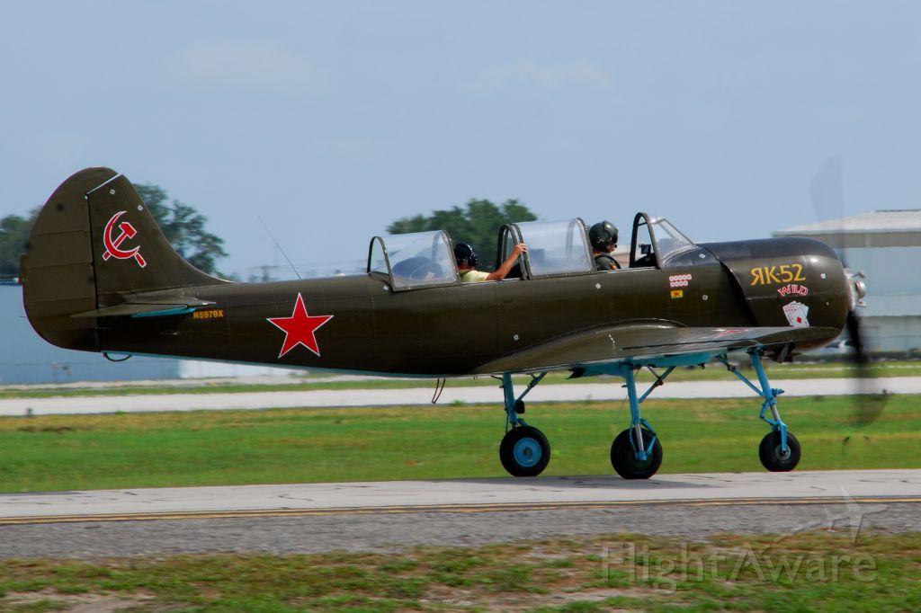 YAKOVLEV Yak-52 (N5979X) - 2013 Sun n Fun Parade of Planes
