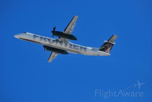 de Havilland Dash 8-400 (N502LX) - F9 commuter