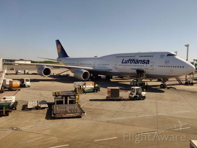 Boeing 747-200 (D-ABYS) - Desembarque em Ezeiza Argentina