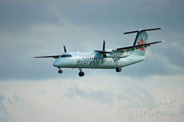 de Havilland Dash 8-300 (C-FACT) - 1991 de Havilland DHC-8-311 (262) arriving as AC8284 from YTS (July 23, 2020)