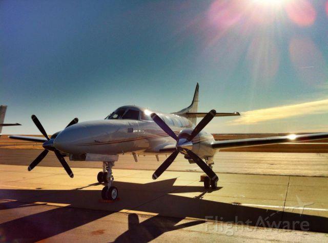 Swearingen Merlin 3 (N749L) - Just another trip to North Dakota.