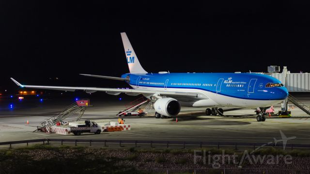 Airbus A330-200 (PH-AOA) - Freshly painted parked at G1