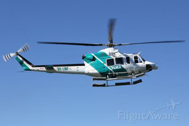 Bell 412 (VH-LWF)