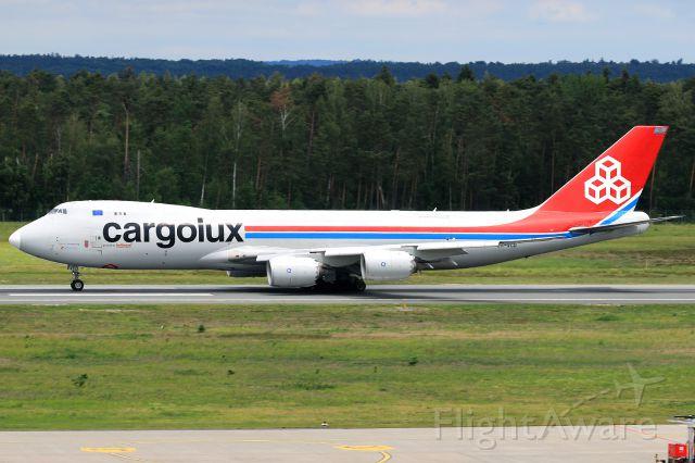 BOEING 747-8 (LX-VCD) - diversion
