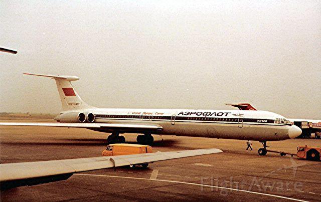 Ilyushin Il-62 (CCCP86462) - On push back circa 1981