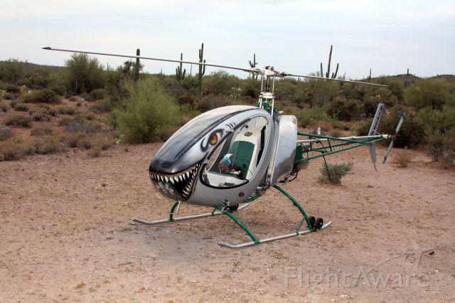 Experimental  (N143PG) - Turbine Helicycle on an Arizona SAR effort