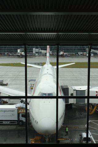 Boeing 747-400 — - LHR to LAS