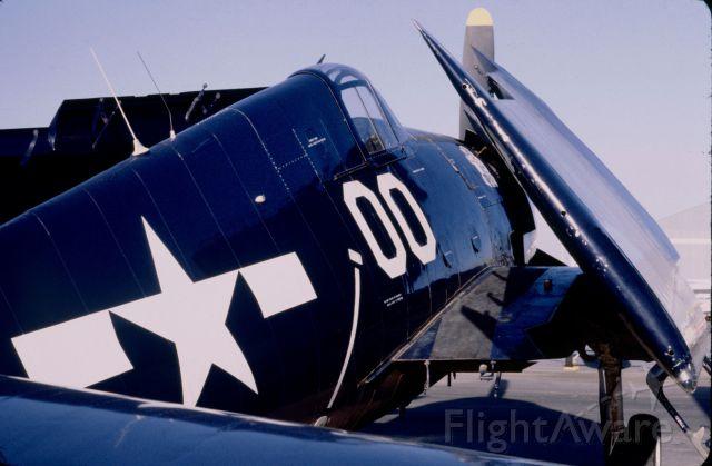 — — - F6F Wildcat McClellan-Palomar Airport Carlsbad CA MAY 1979