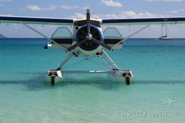 De Havilland Canada DHC-2 Mk1 Beaver (VH-ZDA) - Whitehaven Beach, Whitsunday Islands, Queensland, Australia