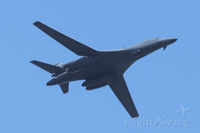 Rockwell Lancer (86-0107) - B-1 Lancer from the 28th Bomb Squadron from Dyess AFB, Texas at the Great Cities of the American Revolution flyover on July 4, 2020 over the Charles River, Cambridge, MA