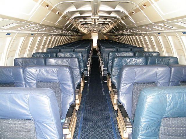 BOEING 727-200 (N727NK) - Interior.  Thanks to the Roush Team!