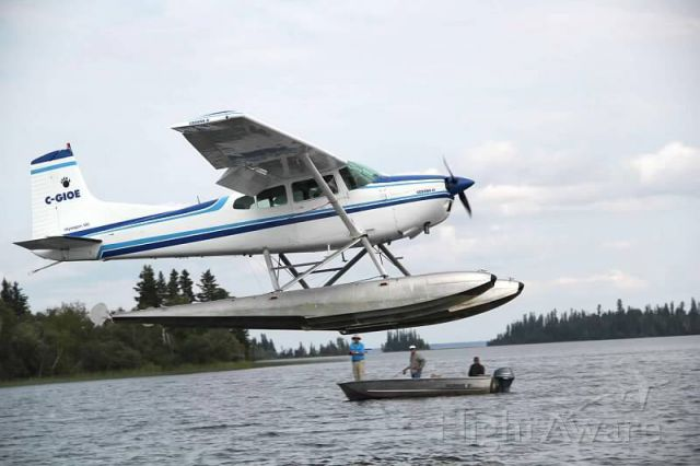 Cessna Skywagon 180 — - Grass River Resort, Reed Lake MB, HOME OF THE GIANT NORTHERN.