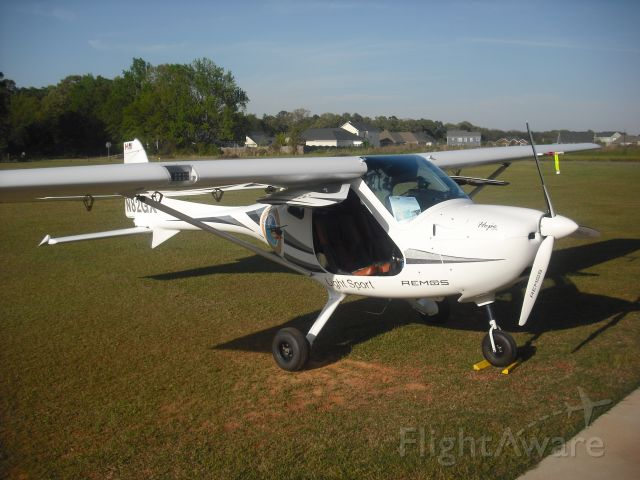 N82GX — - MICHAEL COMBS AND HOPE ONE VISIT EAA CHAPTER APRIL 2011