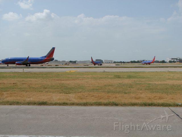 BOEING 737-300 (N371SW) - Southwest flight 1701 departing Dallas for Harlingen, TX