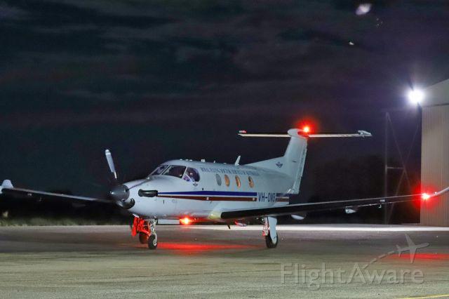 Pilatus PC-12 (VH-OWB) - VH-OWB at YMEK 1/3/2018 on patient transfer duties