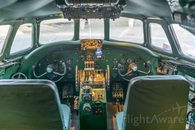 Beechcraft Bonanza (36) (N8083H) - Flight Deck of L-1649A Starliner parked at JFK's TWA Hotel.  The bar is in the back!