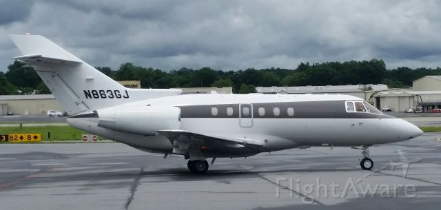 Raytheon Hawker 800 (N863GJ)