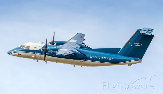 de Havilland Dash 8-100 (C-GCFK) - ILS calibration of runway 24L at YYZ